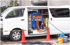 中型高圧洗浄車